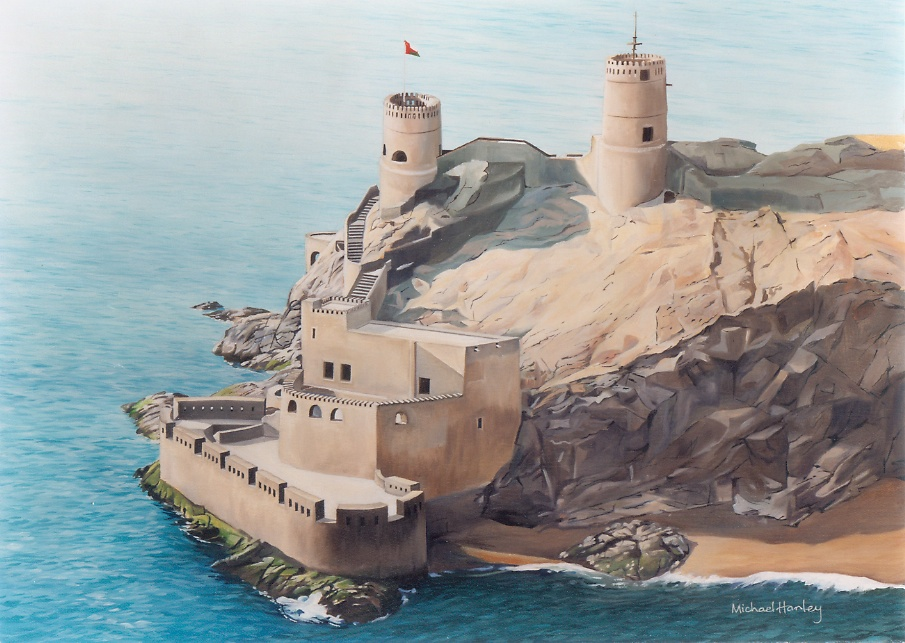 Fort Shira, Muscat Harbour, Oman