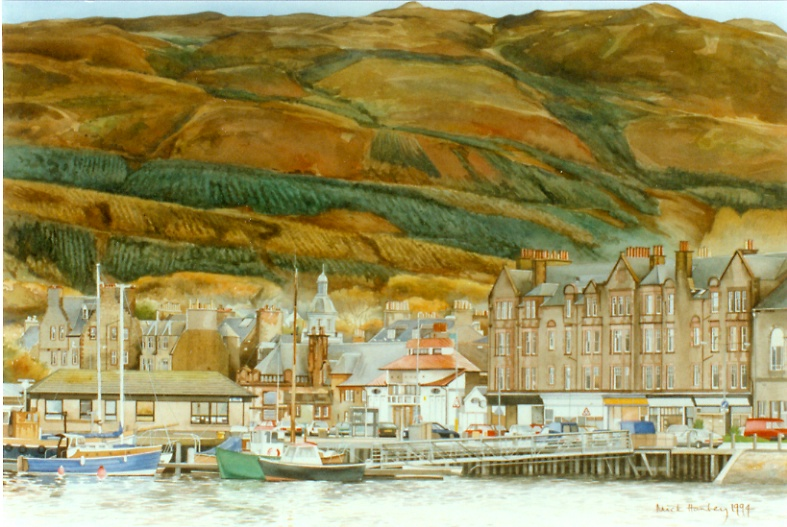 Campbeltown 1994  watercolour   350 x 600